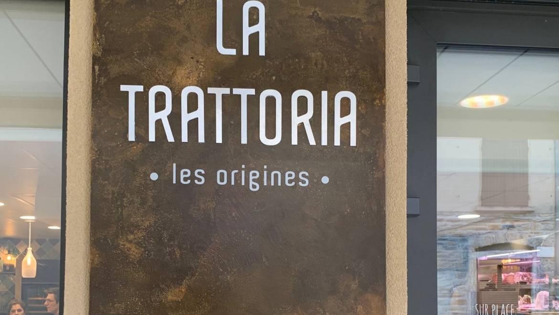"""""""La Trattoria"""", ristorante italiano a Craponne, Francia"""