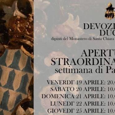 """""""DEVOZIONE DUCALE"""", Museo di Palazzo Bonafede"""