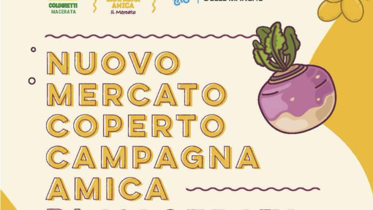 Nuovo mercato coperto campagna amica di Macerata